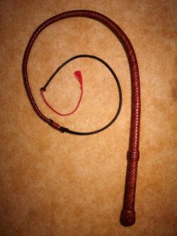 Americký dlouhý bič 1,6 m z hovězí kůže